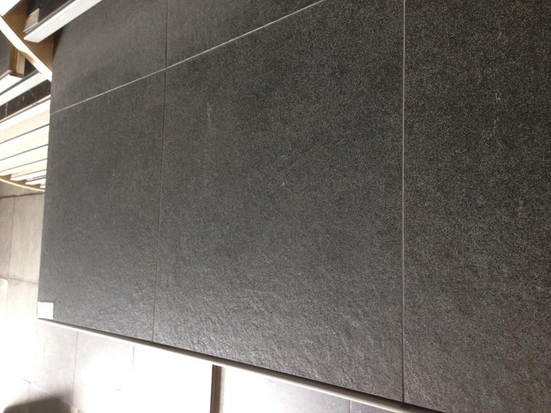 Antraciet Tegels 60x60 : Vloertegel 60x60 cm vulcan antraciet
