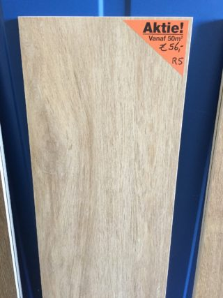 houtlook tegel 30x180 cm Eiken beige R5 restpartij