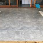 Vloertegel 80x80 cm Design Beton grijs CR4