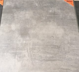 Vloertegel 80x80 cm Design Beton Donker grijs CR6
