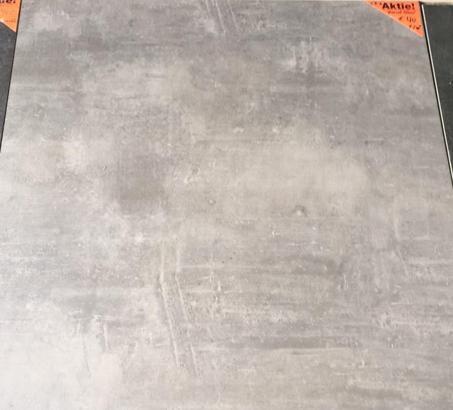 Terrastegels 80x80 Beton.Vloertegel 80x80 Cm Design Beton Donker Grijs Cr6