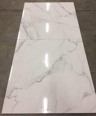 marmerlook wit met grijze aders 90x90 cm ook als badkamertegels