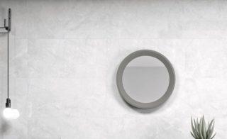 marmerlook licht grijs wit Nav 2 als vloer- en wandtegels te gebruiken