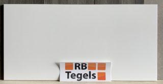 Hoogglans wandtegel 30x60 cm gerectificeerd Wit