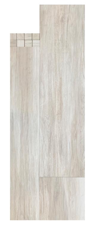 Houtlook tegel 30x120 cm Grijs E8 is mooi op de vloer en wand