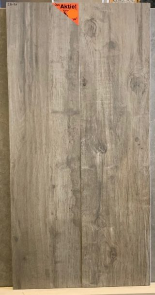 Keramisch parket 23x120 cm ook leverbaar in 30x120 cm taupe grijs met noesten