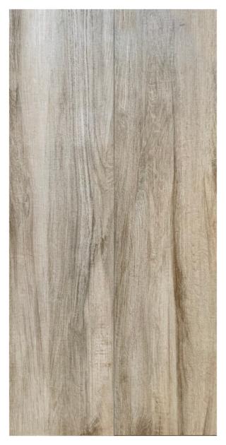 Houtlook tegel 30x180 cm Bruin S1 is mooi op de vloer en wand