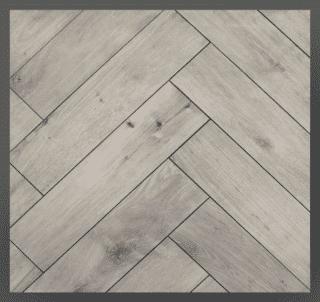 Houtlook tegel Visgraat 15×60 cm gerectificeerd Omino grijs DC2 is ook leverbaar in 20x120 cm. Met deze tegel heb je de uitstraling van een houten visgraat vloer met de voordelen van keramiek. Combineer deze tegel bijvoorbeeld met een betonlook tegel, een marmerlook tegel óf betegel de vloer én wand met hout / parket voor een landelijk en hip effect.