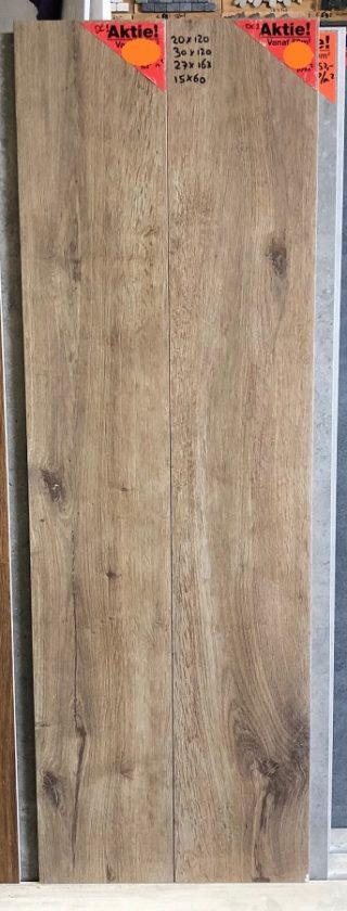 Houtlook tegel 20x120 cm DC1 Bruin