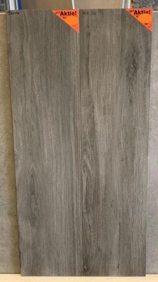 Houtlook tegels 30x120 cm Cr7 donker grijs