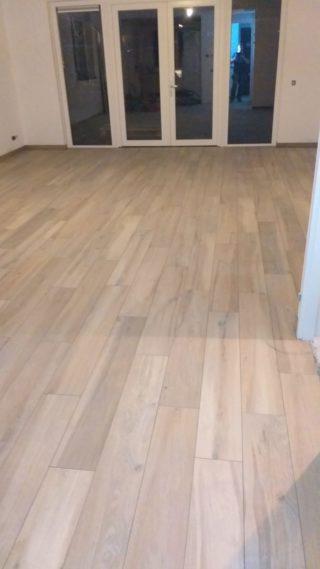 Keramisch parket 20x120 cm licht bruin DC5 woonkamer vloer