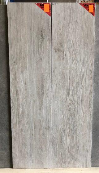 Keramisch parket 30x120 cm Bianco CR10 met v groeven