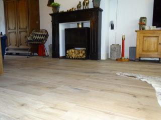 Keramisch parket 30x120 cm Flaviker Dakota Natural is mooi op de vloer en wand