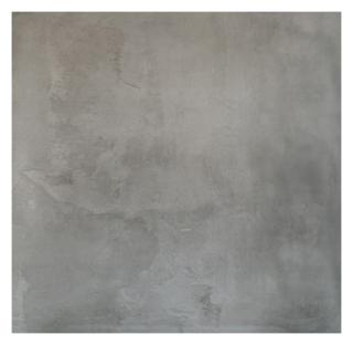 Vloertegel 100×100 cm Gerona Antraciet betonlook A2 is mooi op de vloer en wand