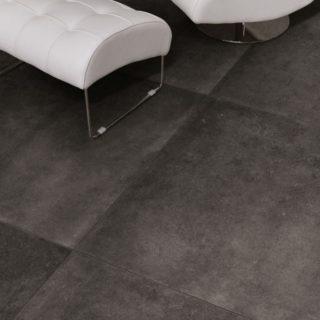 woonkamer vloertegel 100x100 cm Belgisch hardsteen look Antraciet CC5