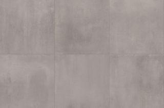 woonkamer vloertegel 100x100 cm taupe betonlook