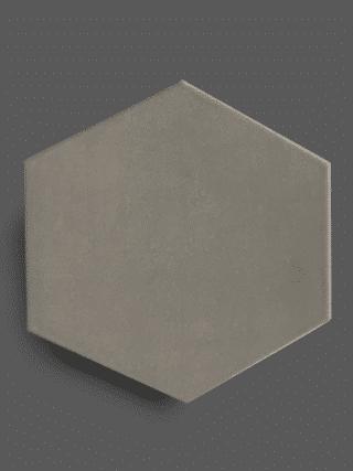 Vloertegel 23×26 cm Hexagon Grijs A304 is geschikt op de vloer en wand