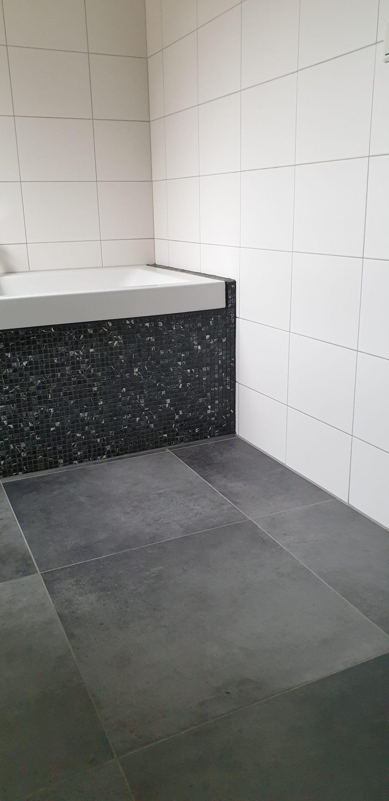 Vloertegel 60x60 Cm Betonlook Antraciet Dc90 Rb Tegels Tiel