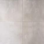 Vloertegel 60,8x60,8 cm Ark Grijs Betonlook Nr. 18 is mooi op de wand en vloer