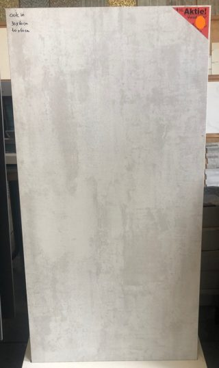 Wit Metallook vloertegel 60x1202 cm Metallica A112