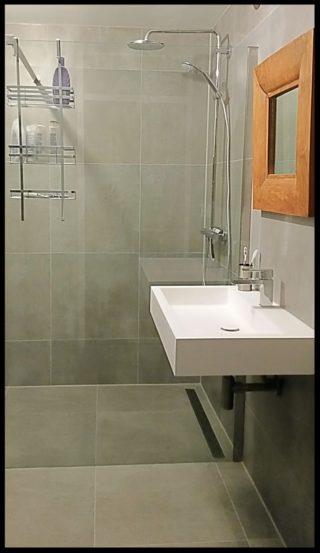 Vloertegel 60x60 cm betonlook Fairy Grijs H97 badkamer tegels