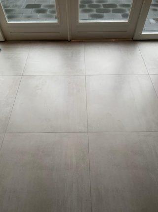 Vloertegel 75x75 cm C29 Steel Betonlook licht grijs ook in meerdere maten leverbaar