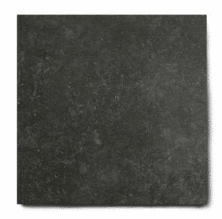 Belgian Noir Antraciet hardsteen imitatie DC26 is ook leverbaar in 60x60 cm. Deze gebakken keramische tegels zijn bijna niet te onderscheiden van origineel natuursteen door het natuurlijke reliëf. Keramische tegels zijn gemakkelijker te onderhouden en hoeven niet geïmpregneerd te worden.
