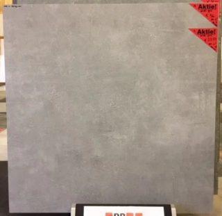 Vloertegel 80x80 cm Ariel Grijs betonlook Nr. 12