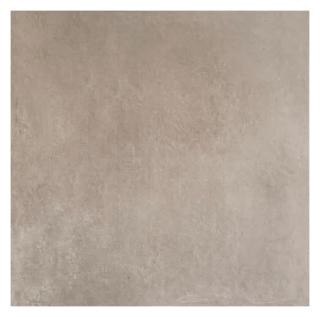 Vloertegel 80x80 cm Betonlook Taupe Grijs S17 is mooi op de vloer en wand
