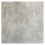 Vloertegel 80x80 cm Betonlook licht grijs E2 is mooi op de vloer en wand