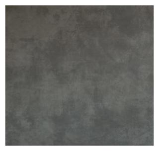 Vloertegel 80x80 cm Cementi Graphite betonlook antraciet Nr. 22 is mooi op de vloer en wand