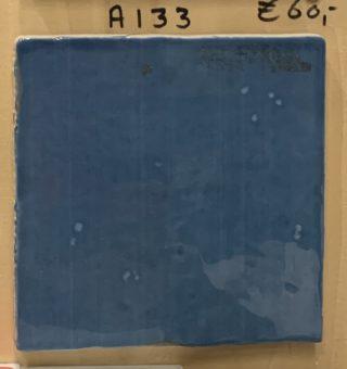 Wandtegel 13x13 cm blauw A133 voor keuken, badkamer en toilet