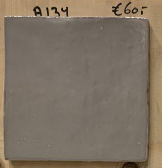 Wandtegel 13x13 cm grijs A134 voor keuken, badkamer en toilet