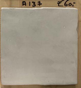 Wandtegel 13x13 cm licht grijs A137 voor keuken, badkamer en toilet
