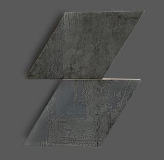 Wandtegel 15×25,9 cm Rombo Antraciet A226 Is geschikt voor in de badkamer, de keuken of het toilet