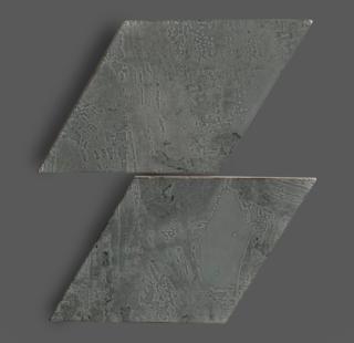 Wandtegel 15×25,9 cm Rombo Grijs A232 Is geschikt voor in de badkamer, de keuken of het toilet