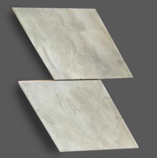 Wandtegel 15×25,9 cm Rombo Wit A238 Is geschikt voor in de badkamer, keuken of in het toilet.