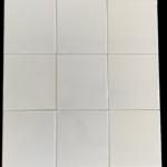 Wandtegel 15×15 cm Glans Wit restpartij (nog 105 m² voorraad)