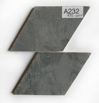 Wandtegel 15x25,9 cm Rombo Grijs A232 voor badkamer, keuken of toilet.