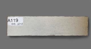 Wandtegel 7.5×30 cm ivoor beige A119 voor badkamer, keuken of toilet
