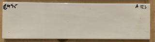 Wandtegel 7.5x30 cm wit A123 voor keuken, badkamer en toilet