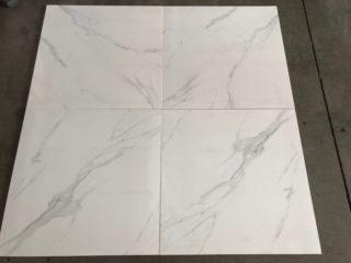 Hoogglans vloertegel 60x60 cm Carrara New Vitro Nr. 71 ook als wandtegels te gebruiken