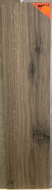 keramisch parket 30x120 cm Donker Bruin walnoot met noesten