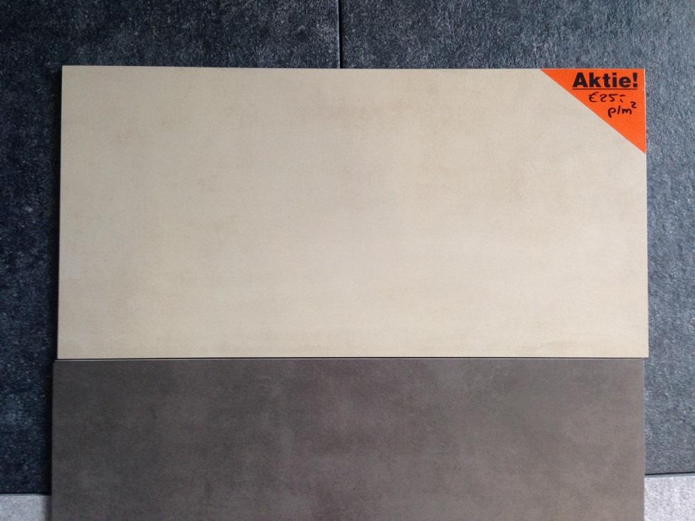 Vloertegel 30x60 cementi beige - Vloertegel cement ...