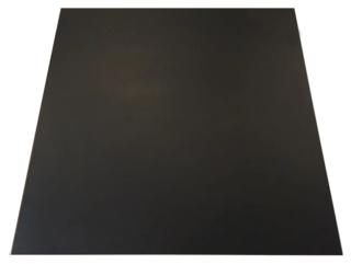 vloertegel 60x60 cm mat zwart Nr. 29 is geschikt voor de vloer en wand.