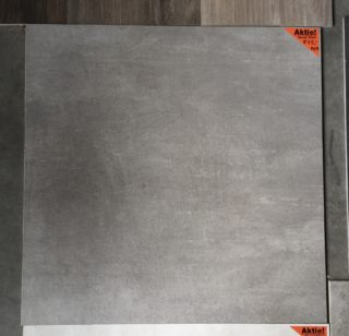 vloertegel 90x90 cm A29 Betonlook Grijs